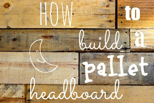 Pallet headboard a basic tutorial of mostly pictures for How to make a headboard out of pallets