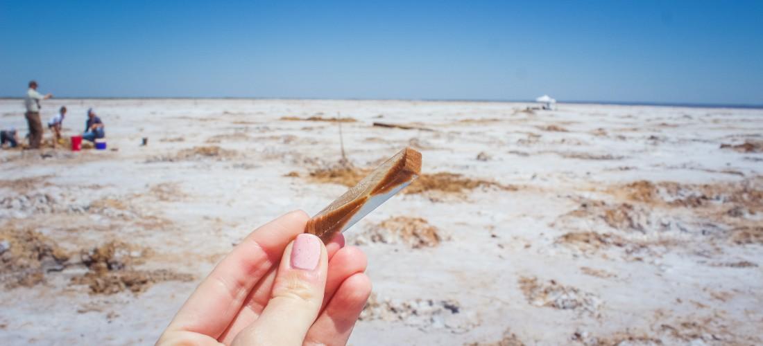 Explore Oklahoma – Selenite Crystal Digging
