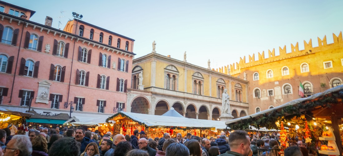 Explore Italy: Christmas Market in Verona