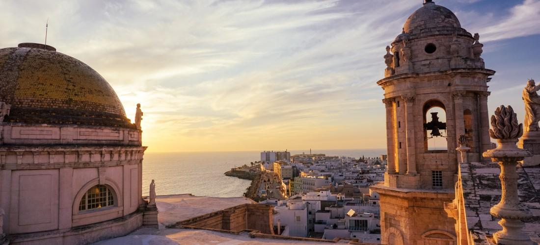 Explore Spain: Sunset in Cadiz
